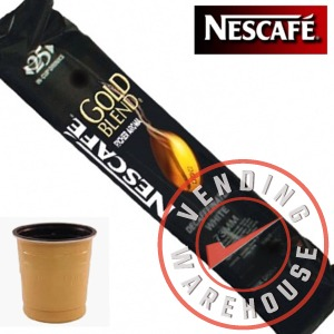 73mm In-Cup Gold Blend Decaffeinated Vending Coffee (12x25) 300 cups