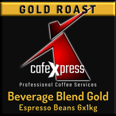 Beverage Blend GOLD ROAST Coffee Beans (6x1kg)