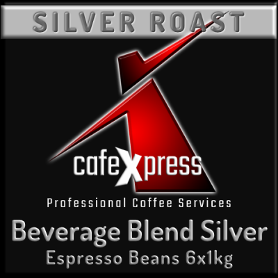 Beverage Blend SILVER ROAST Coffee Beans (6x1kg)