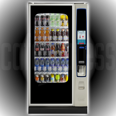 CRANE Bevmax Media 2 Touch 35 Cold Drink Vending Machine
