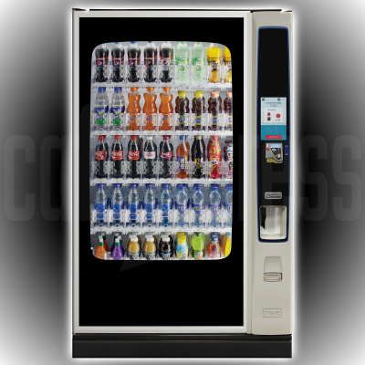 CRANE Bevmax Media 2 Touch 45 Cold Drink Vending Machine