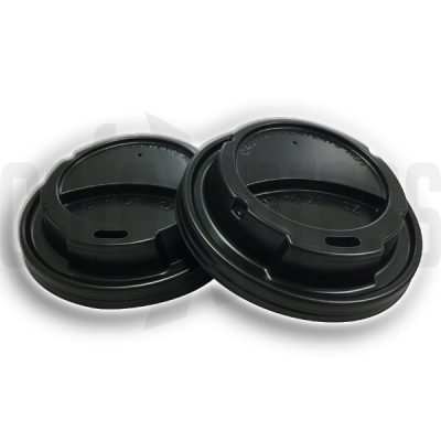 80mm White Sip-Thru Cup Lids X 1000