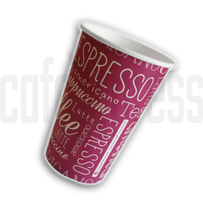 9oz ROSA Paper Vending Cups x 1000 (73mm Rim)
