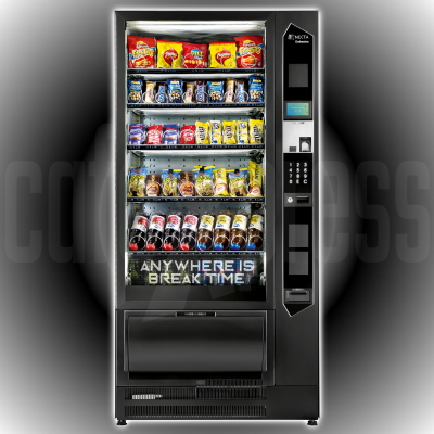 Necta ORCHESTRA TOUCH ETL 6-36 Snacks Only Vending Machine