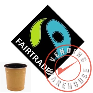 73mm In-Cup Fairtrade Vending Coffee (12x25) 300 cups
