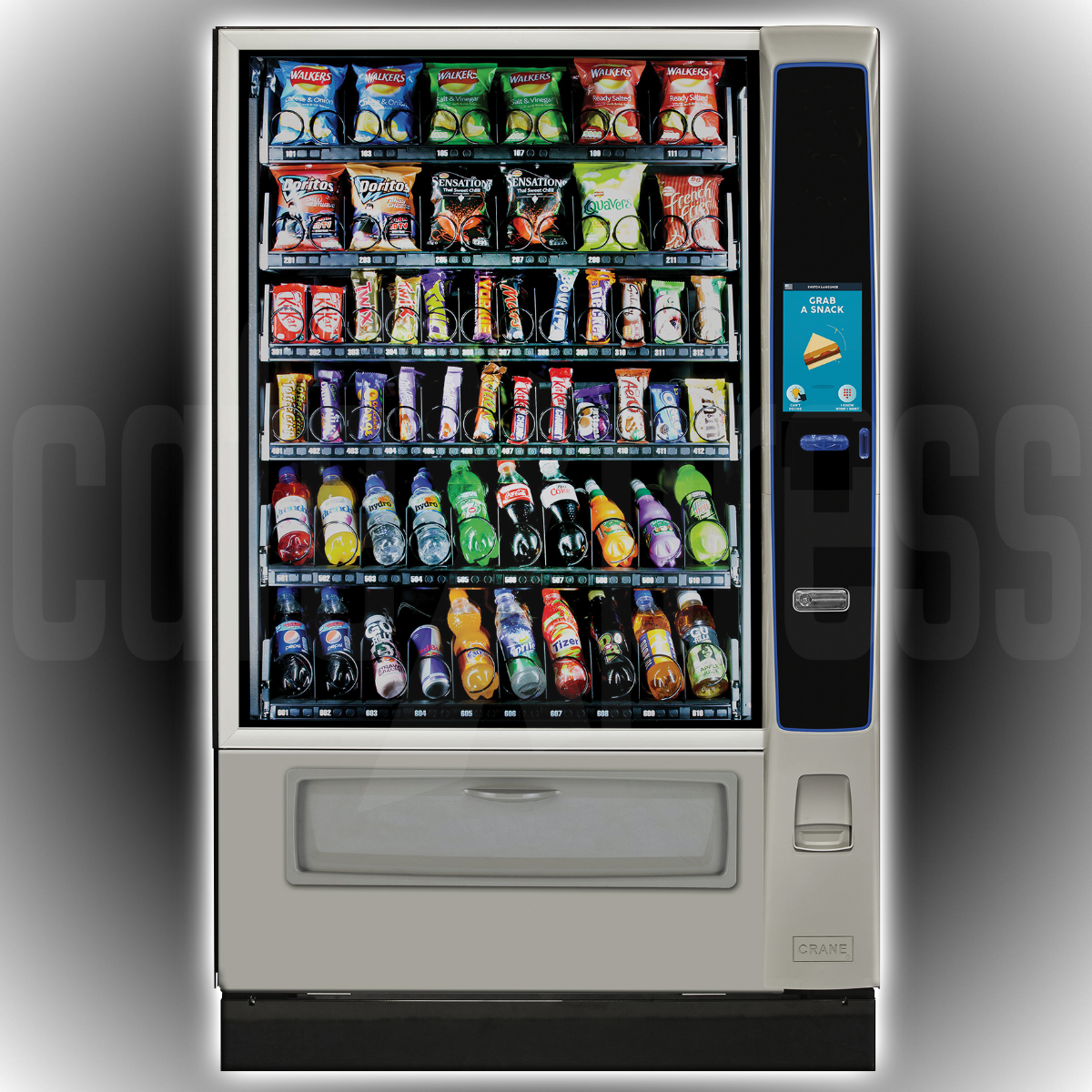 CRANE Merchant Media2 6 Touch Vending Machines