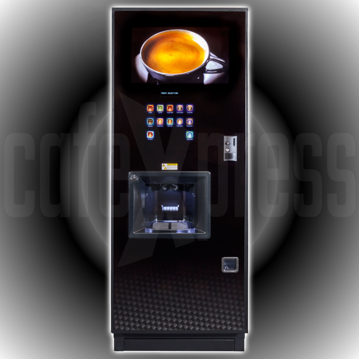 Coffetek NEO Espresso + Freshbrew Tea Drink Vending Machine