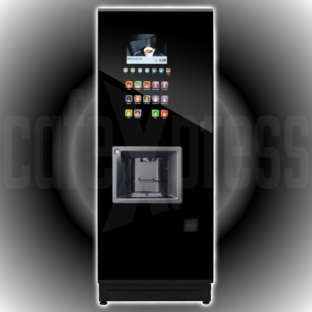 Coffetek STEP Freshbrew Tea Hot Drink Vending Machine