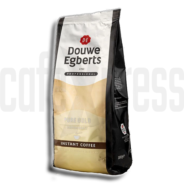 Douwe Egberts Pure Gold Freeze Dried Vending Coffee (10x300g)