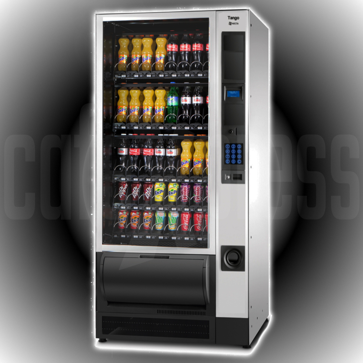 Necta TANGO 5-40 Cold Can & Bottle Machine
