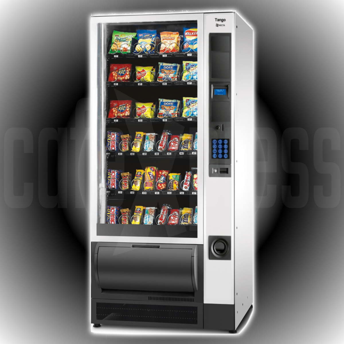 Necta TANGO 6-36 Snack Food Vending Machine