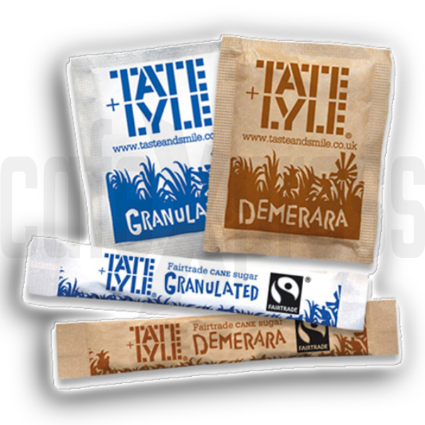 Tate & Lyle FAIR TRADE White Sugar Sticks (1x1000)