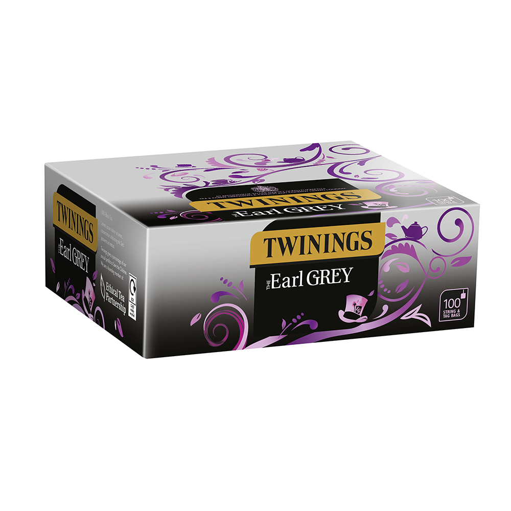Twinings Earl Grey String & Tagged 100s (1 Units)