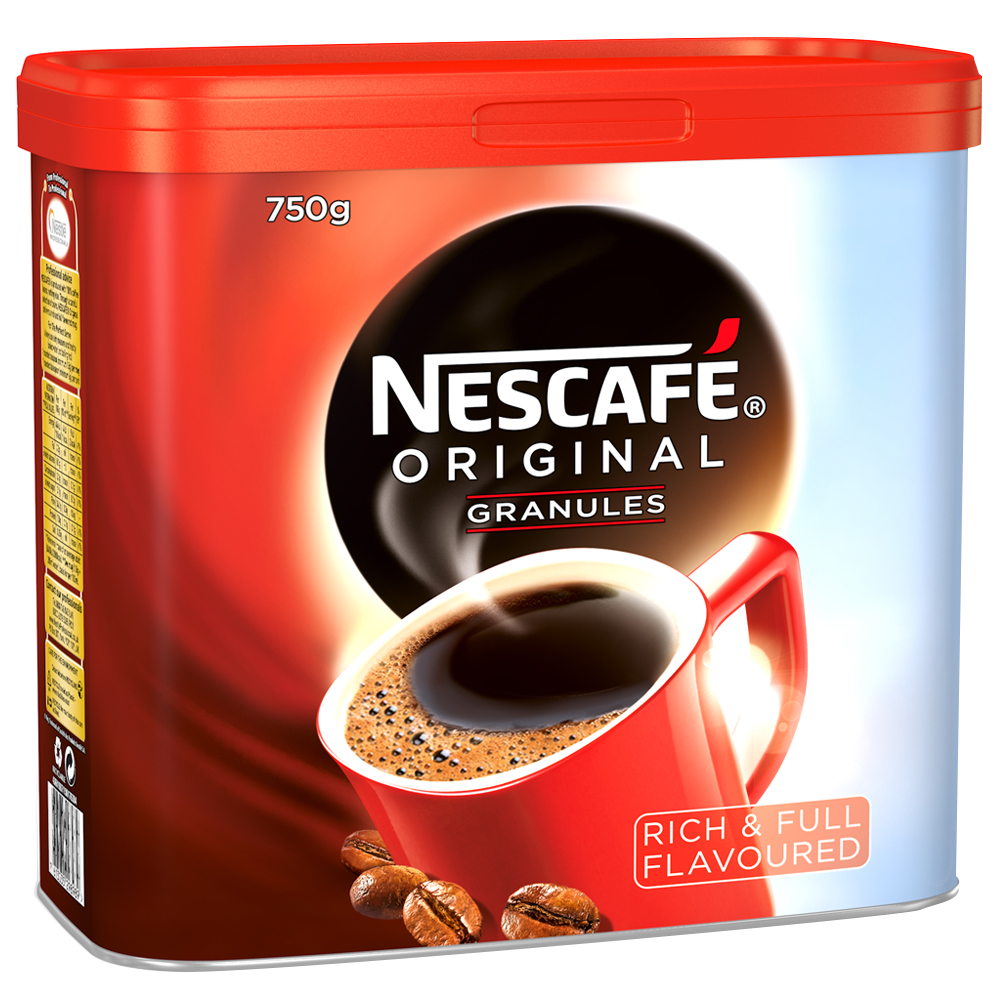 Nescafe Original Coffee Granules 750g (6 Units)