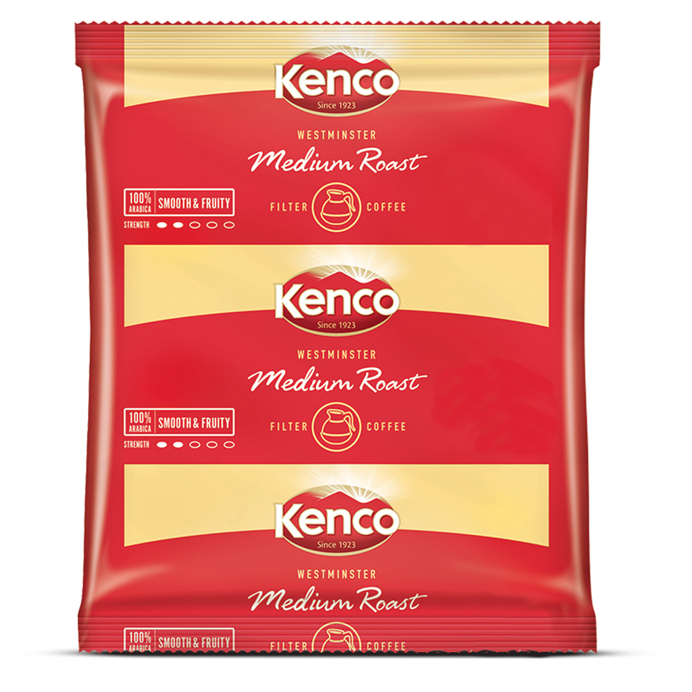 Kenco Westminster Sachets 60g (w/ 50 Filter Papers) (50 Units)
