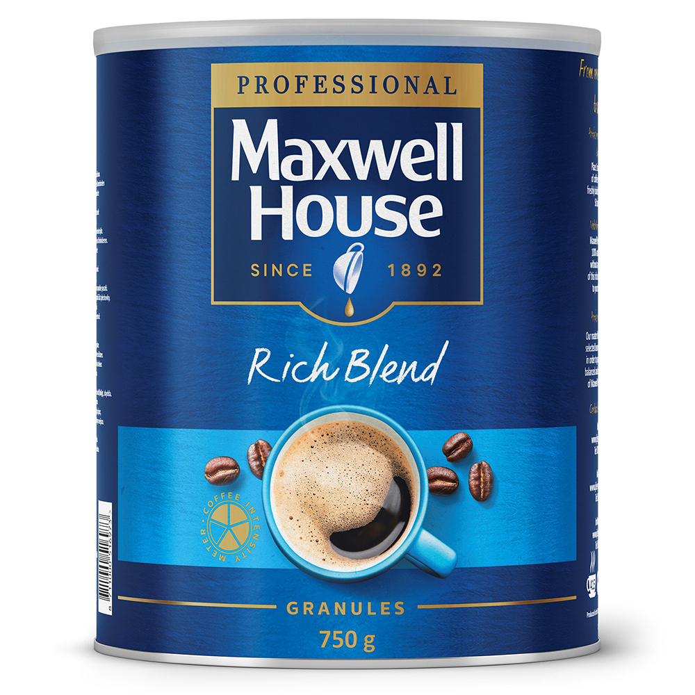 Maxwell House Granules 750g Blue (1 Units)