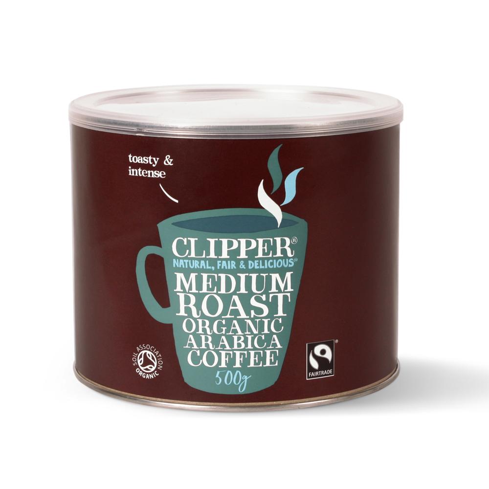Clipper Fairtrade Arabica Coffee 500g (4 Units)