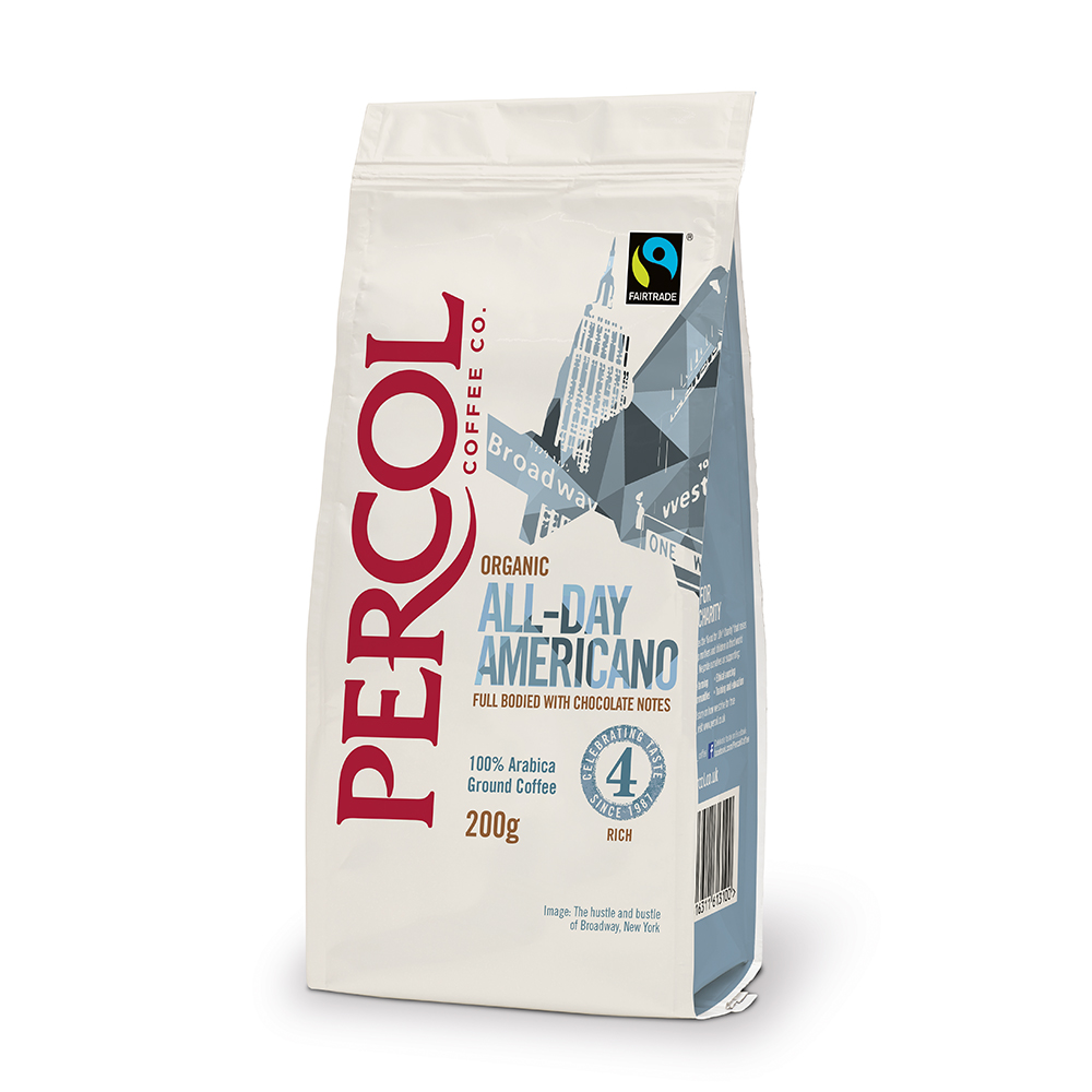 Percol Americano Filter Coffee 200g (6 Units)