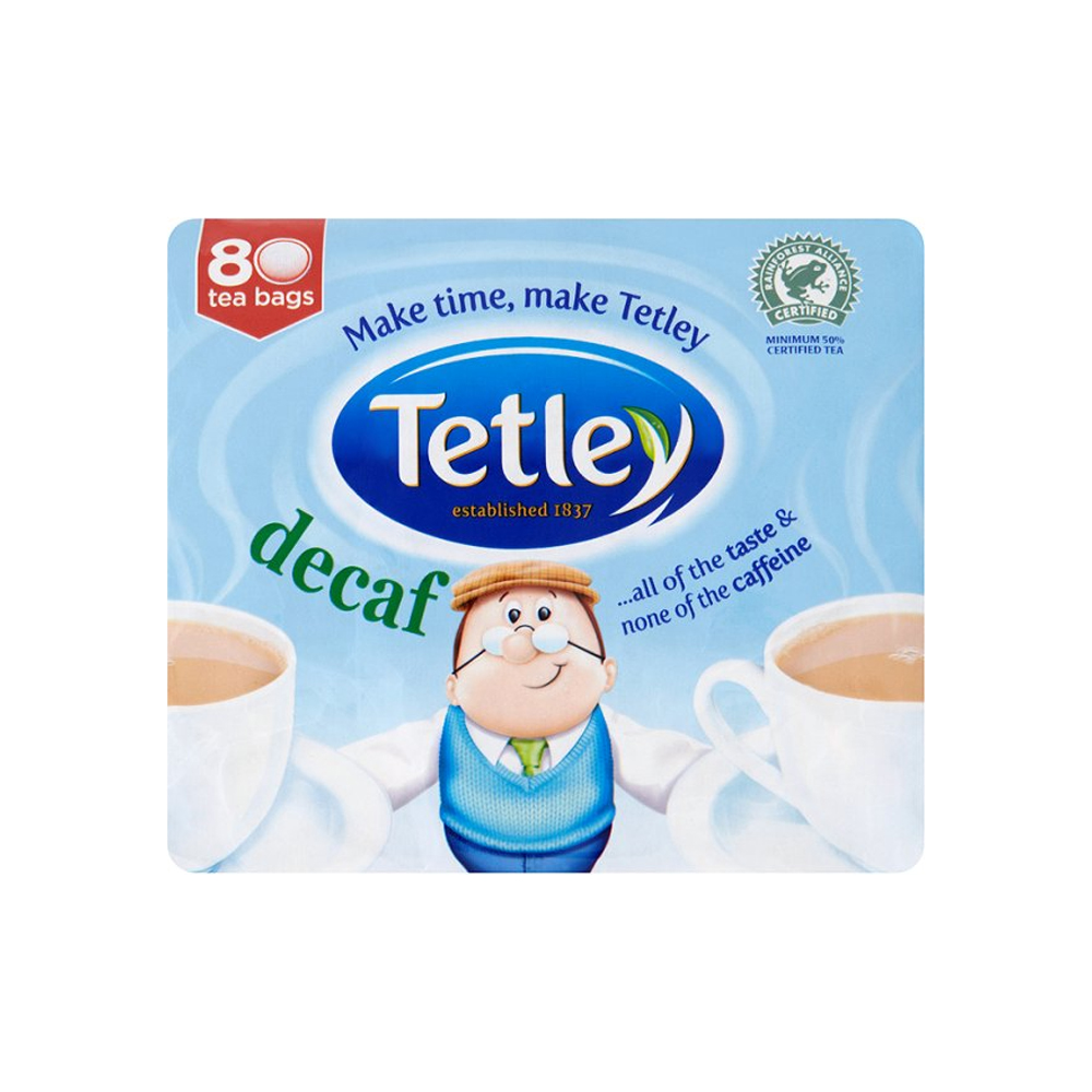 Tetley Decaf 80's (12 Units)