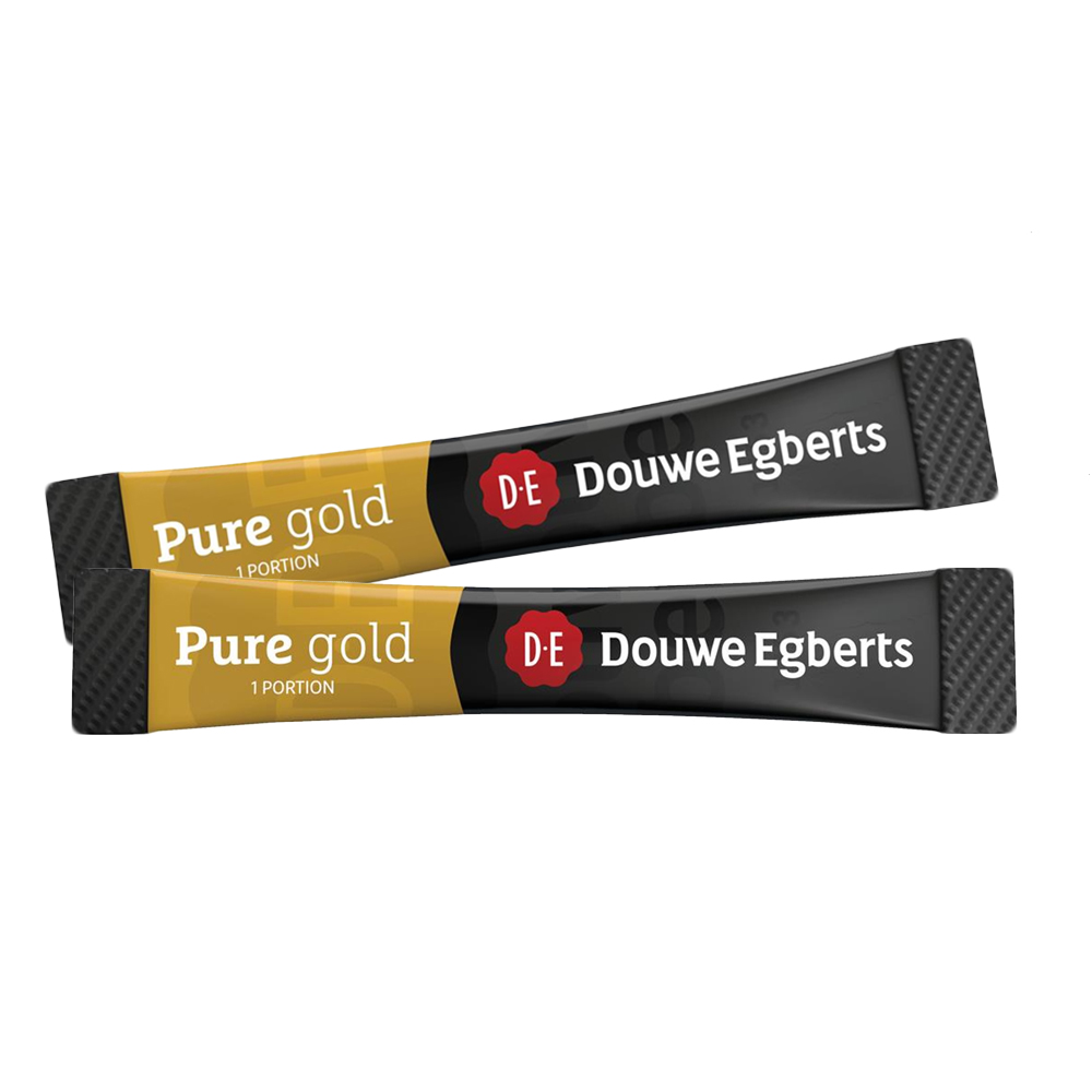 Douwe Egberts Pure Gold Coffee Sticks 200's (1 Units)
