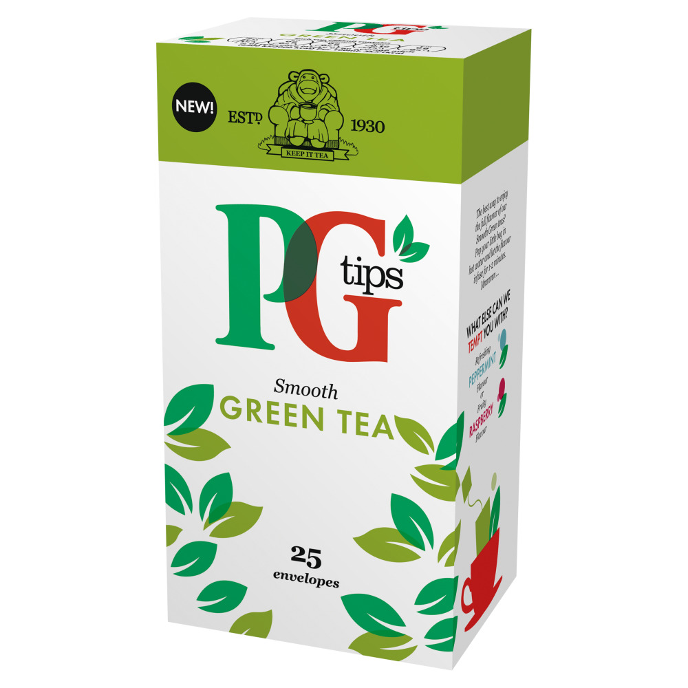 PG Tips Green Tea 25's (1 Units)
