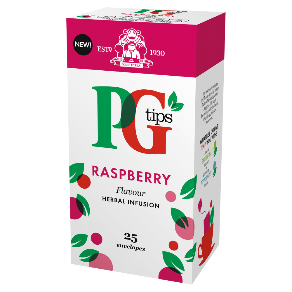 PG Tips Raspberry 25's (6 Units)