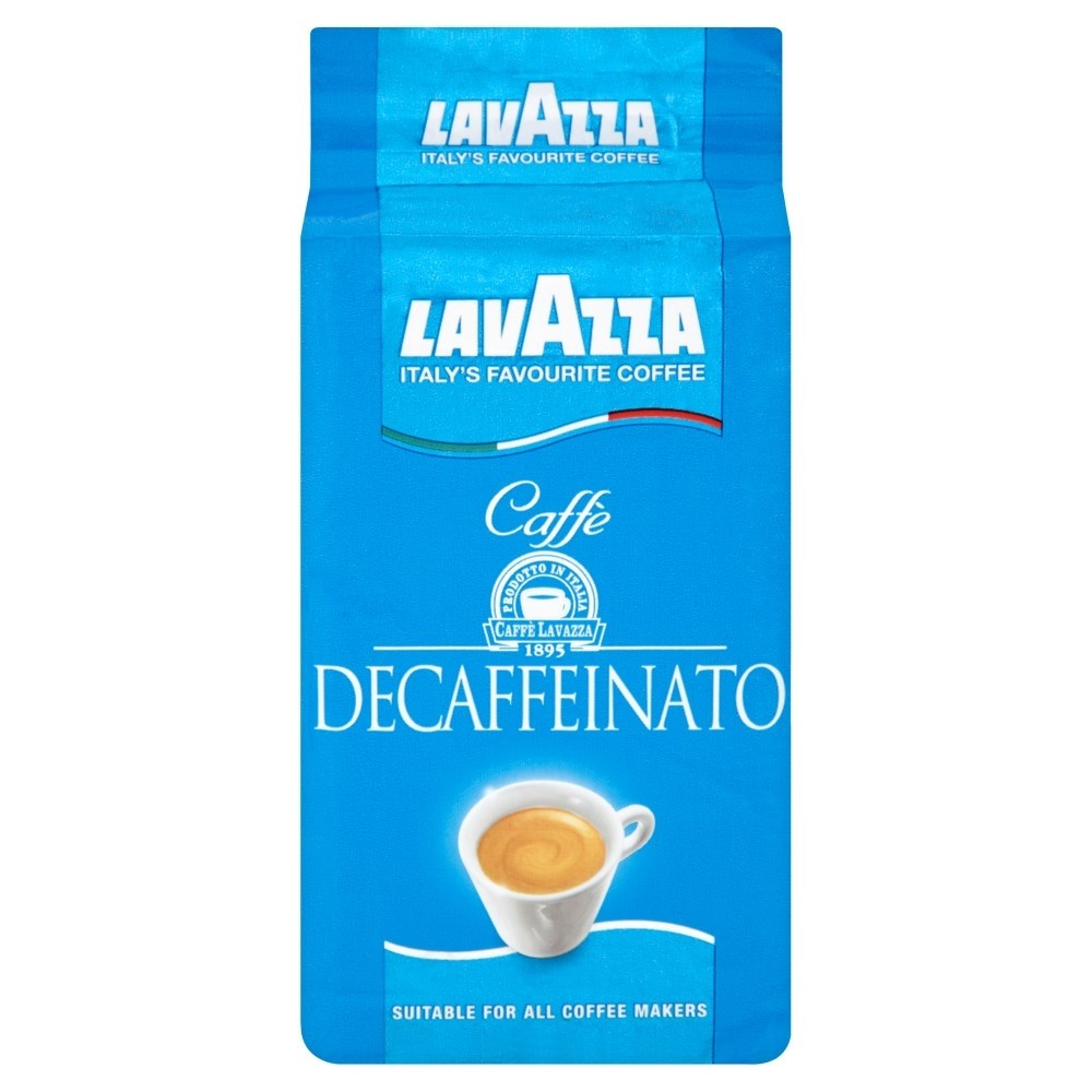 Lavazza Decaf Ground Filter Coffee 250g (8 Units)