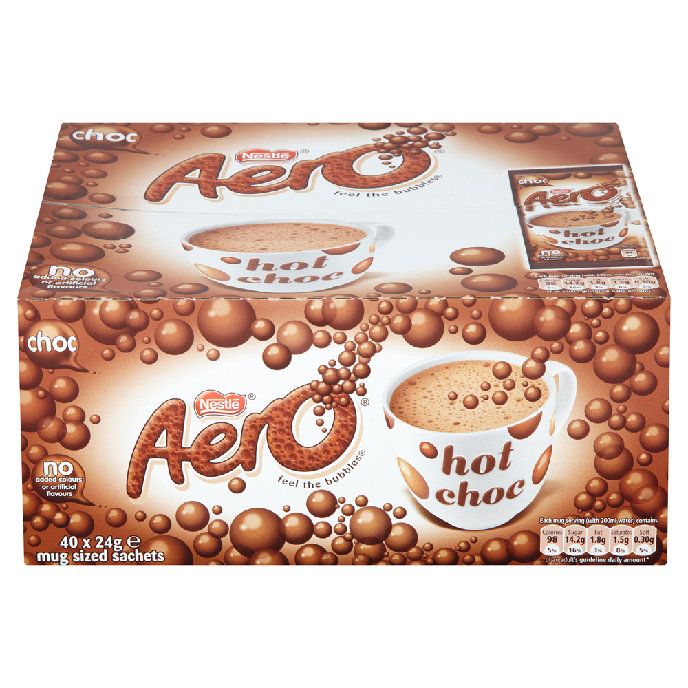 Aero Chocolate Sachets 40's (1 Units)