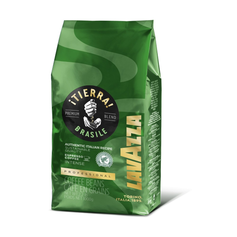 Lavazza Tierra Origins Brasil Coffee Beans 1kg (Green) (1 Units)