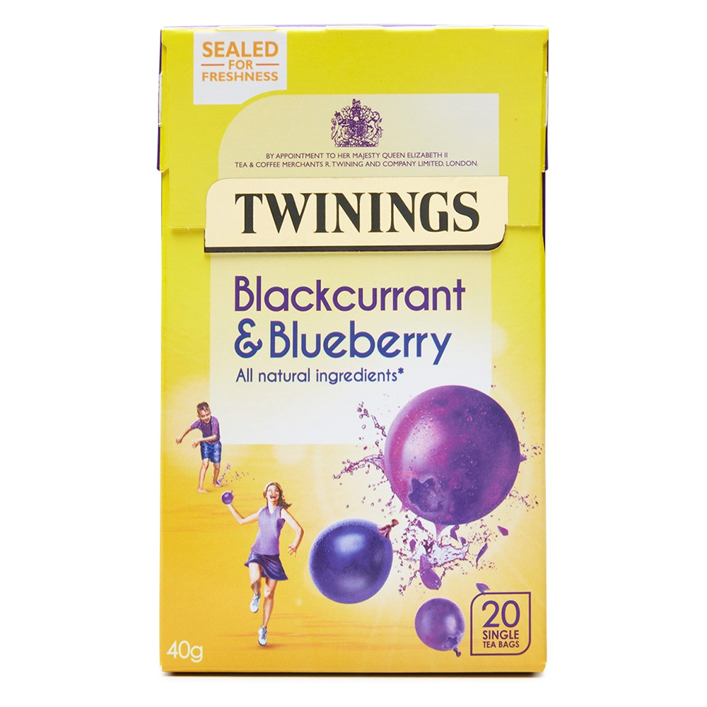 Twinings Blackcurrant & Blueberry 20's (4 Units)