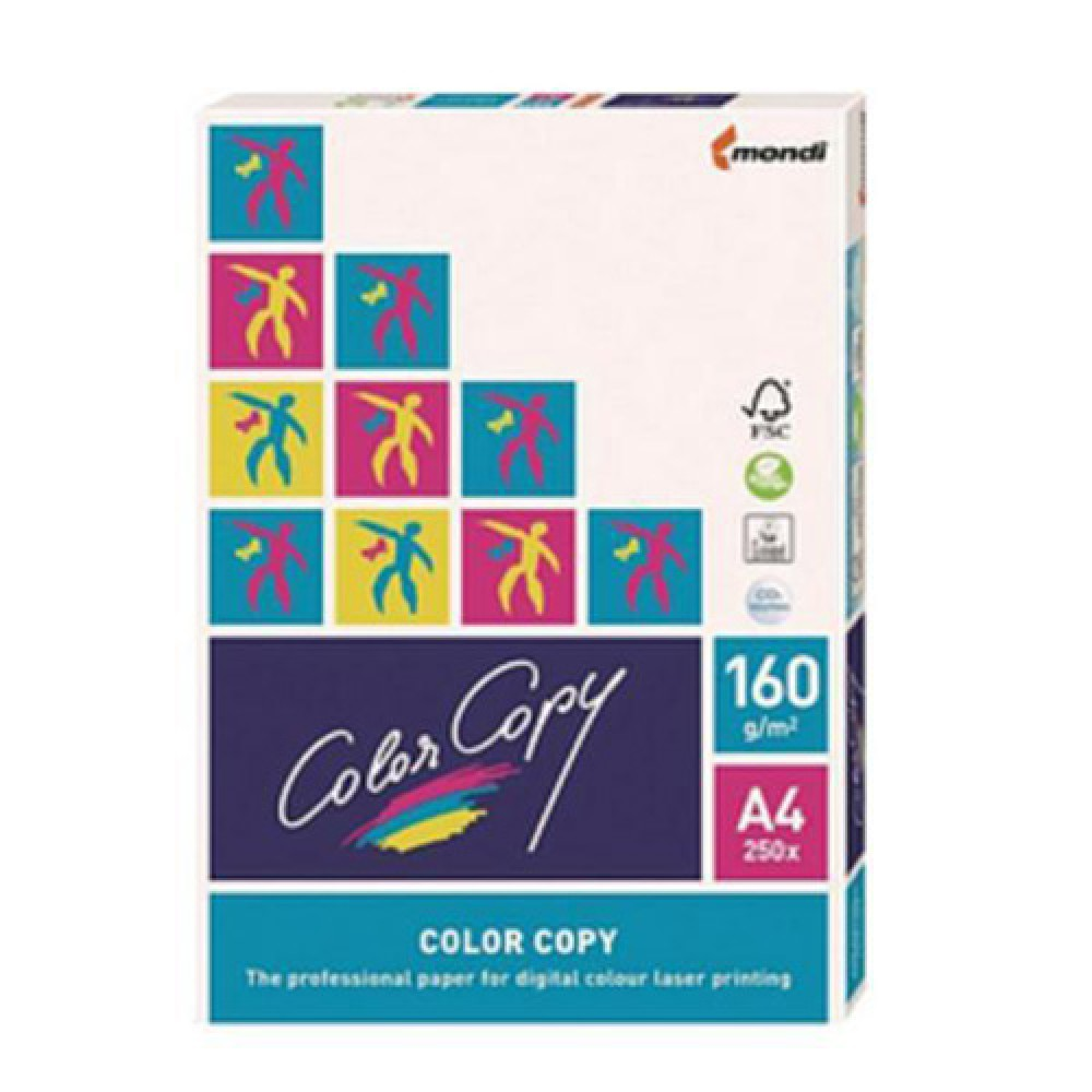 Color Copy A4 White 160gsm Paper 250 Sheet (5 Units)