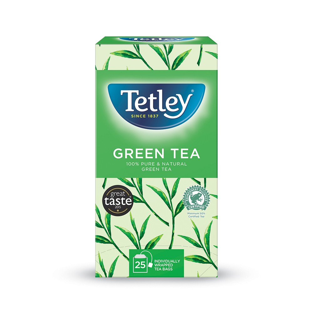 Tetley Green Tea 25's (6 Units)