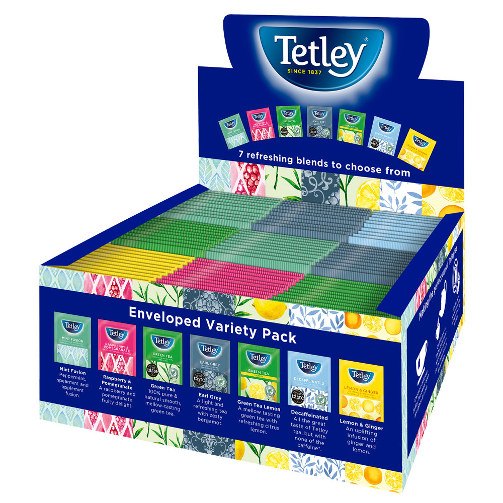 Tetley String & Tagged Variety Pack 90's (4 Units)