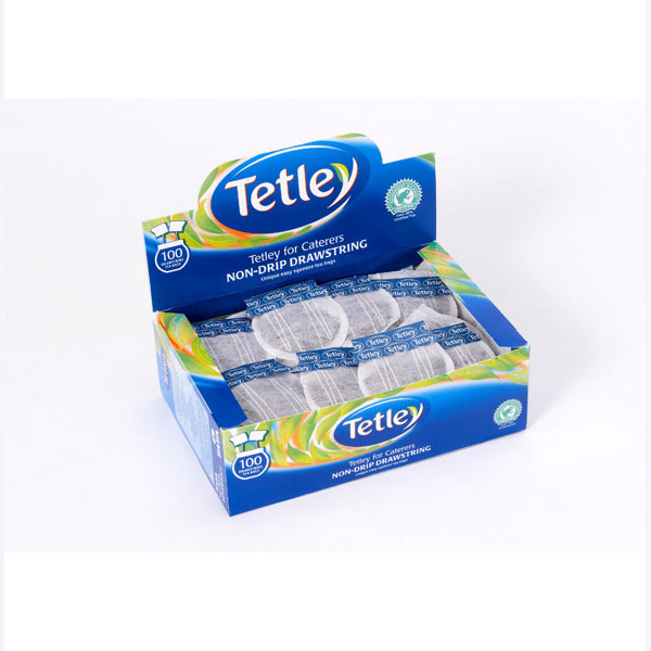 Tetley Drawstring Easy Squeeze 100's (12 Units)