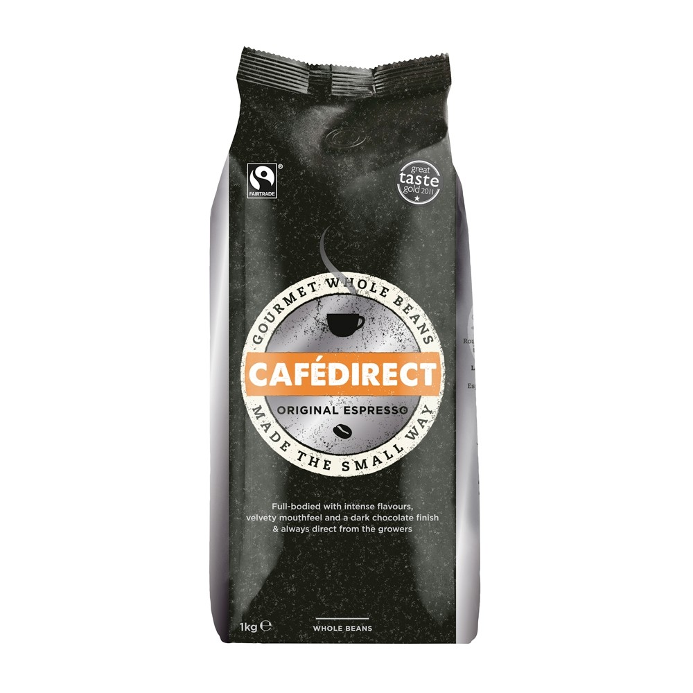 Cafe Direct Espresso Original Beans 1kg (4 Units)