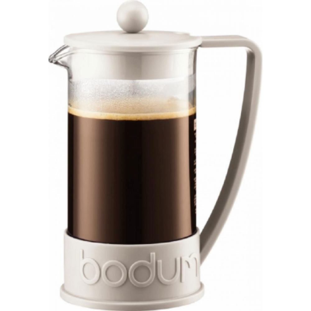 Bodum Brazil 8 Cup White Coffee Press 1 Litre (1 Units)