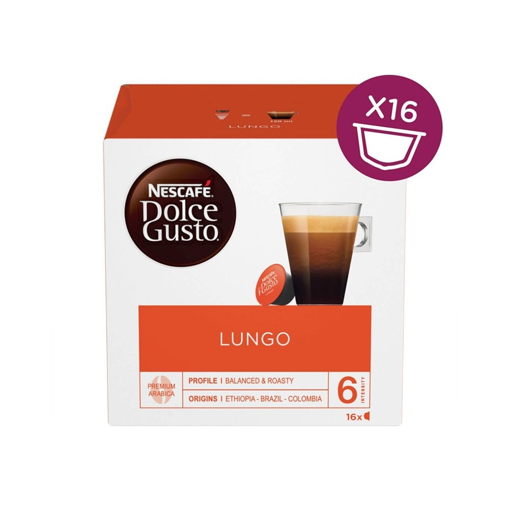 Dolce Gusto Cafe Lungo 16's (3 Units)