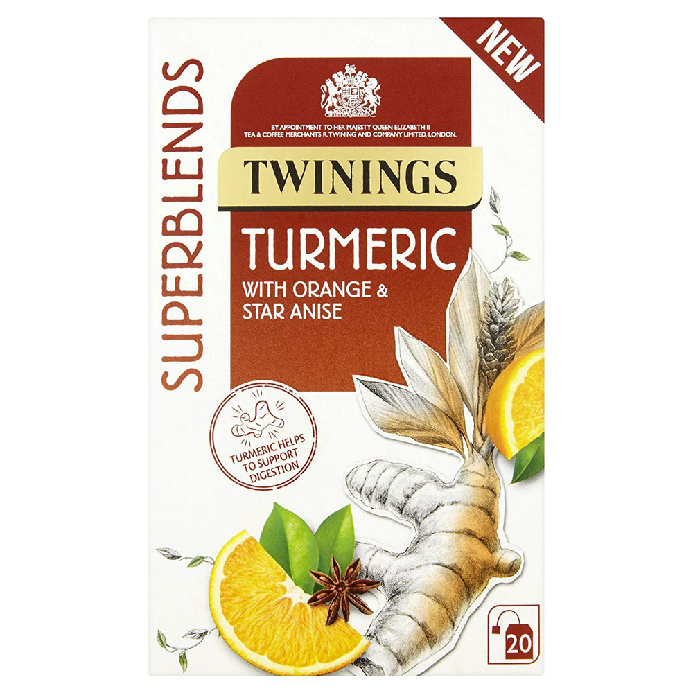 Twinings Superblends Turmeric Envelopes 20's (1 Units)