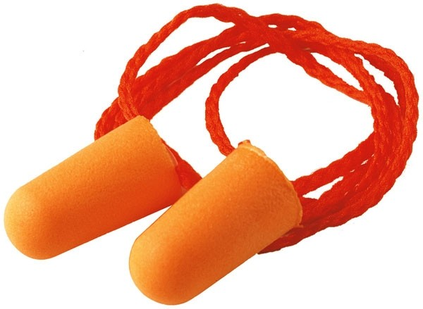3M Orange Corded Ear Plugs Pack 100's (1 Units)