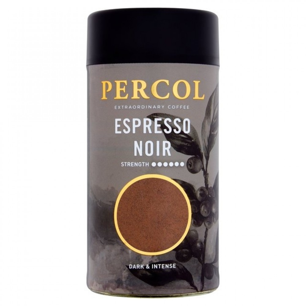 Percol Espresso Noir Instant Coffee 100g (6 Units)