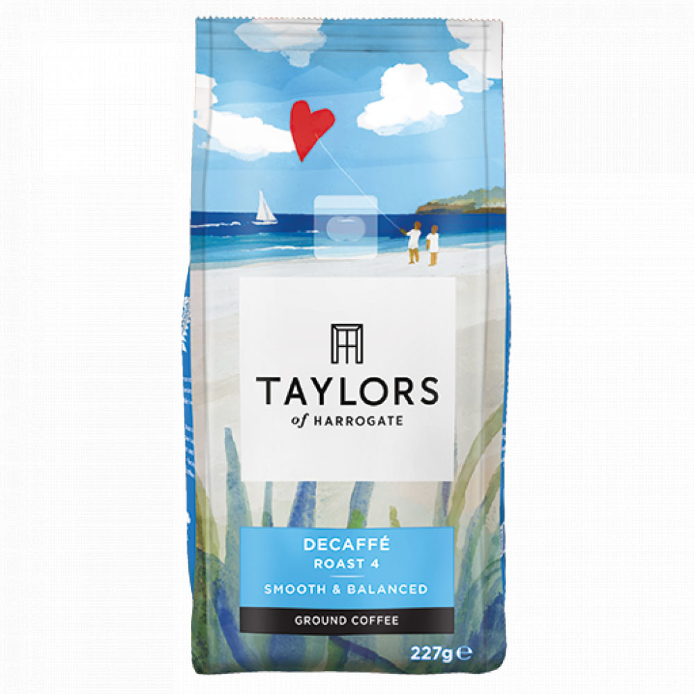 Taylors of Harrogate Decaf Ground Coffee 227g (1 Units)