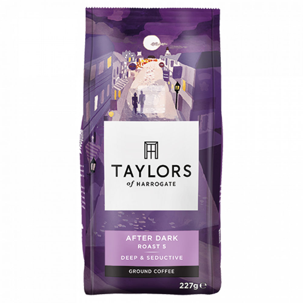 Taylors of Harrogate After Dark Ground Coffee 227g (6 Units)