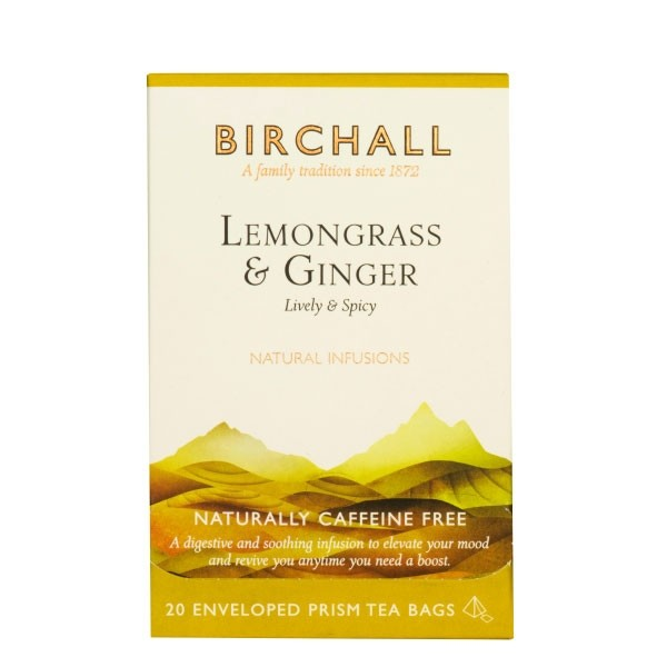 Birchall Lemongrass & Ginger Prism Envelopes 20's (1 Units)