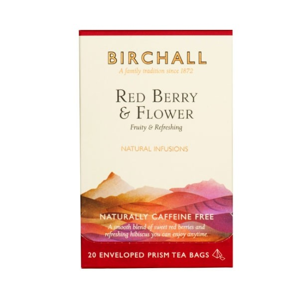 Birchall Red Berry & Flower Prism Envelopes 20's (1 Units)