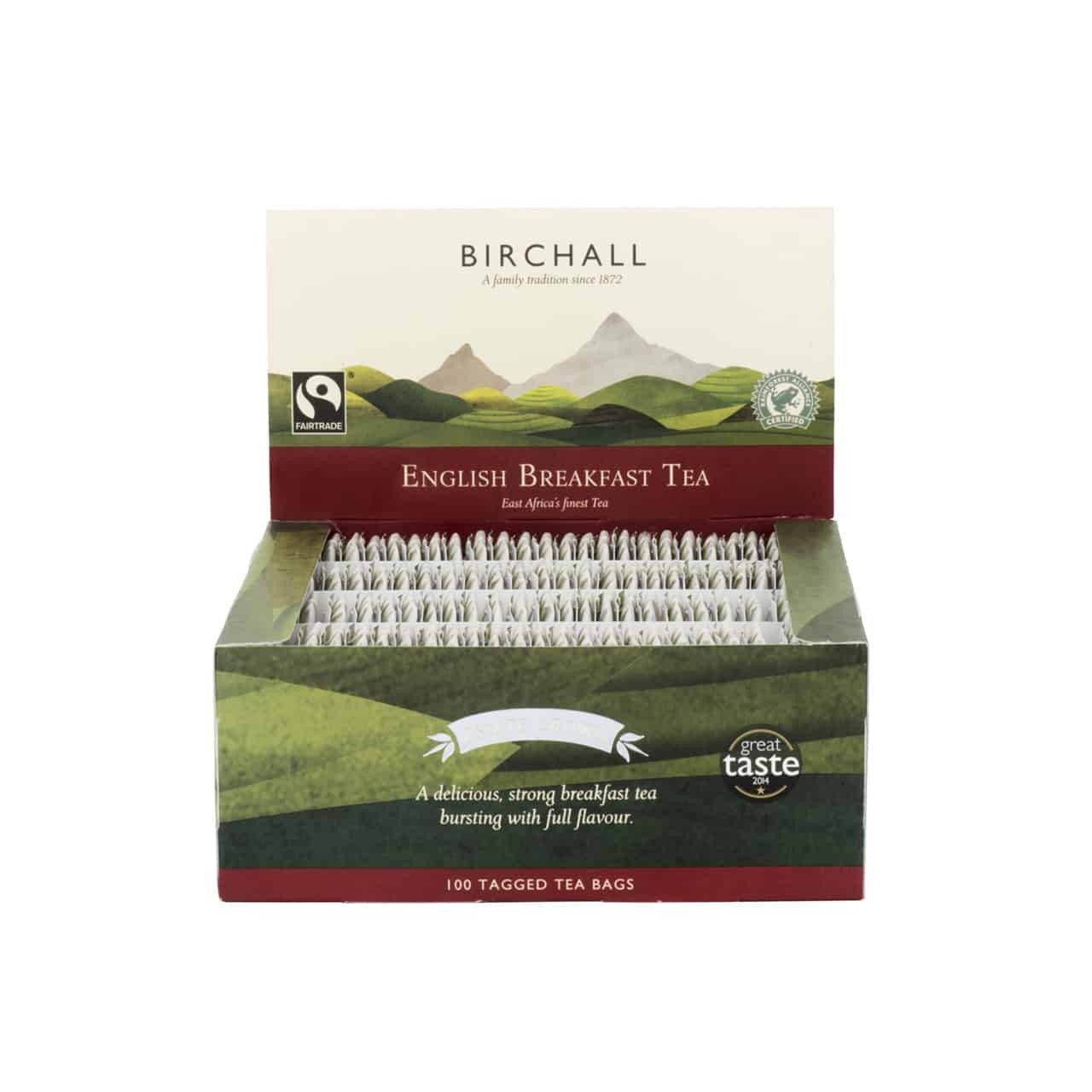 Birchall English Breakfast String & Tagged 100's (1 Units)