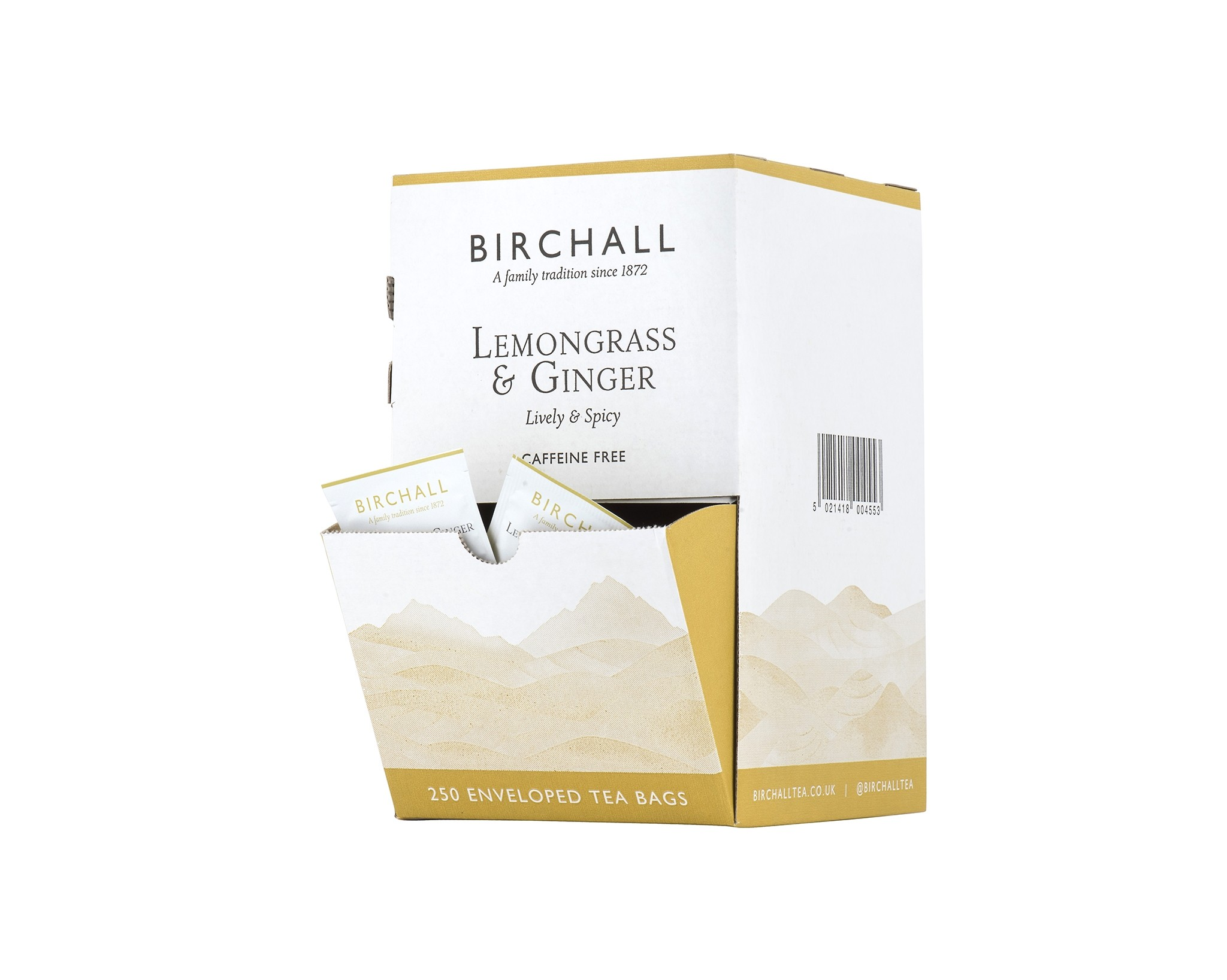Birchall Lemongrass & Ginger 250 Envelopes (1 Units)
