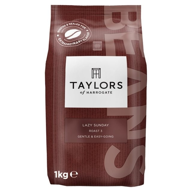 Taylors of Harrogate Lazy Sunday Coffee Beans 1kg (2 Units)