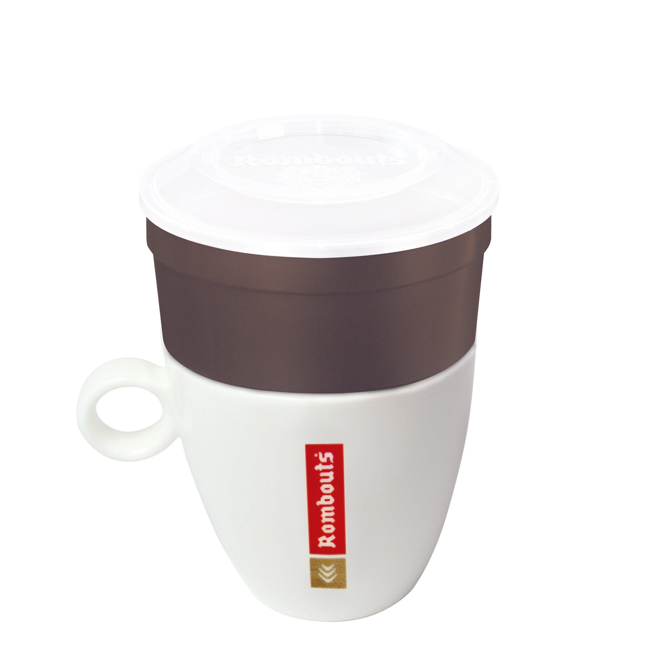 Rombouts Colombian 1 Cup Filters 10's (1 Units)