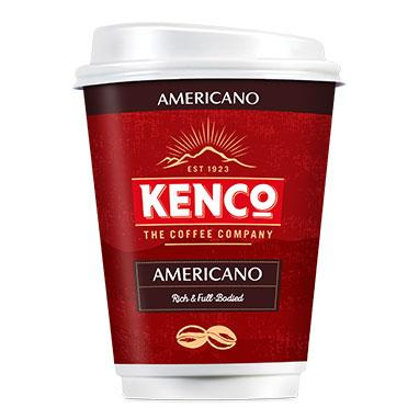 Kenco 2 Go Americano (Sleeves of 8) (20 Units)