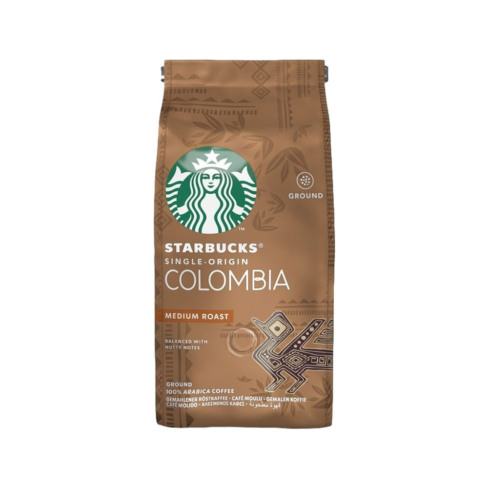 Starbucks Medium Colombia Ground Filter Coffee 200g (6 Units)